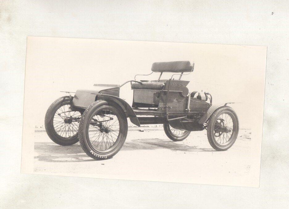 1903 ? Orient Buckboard ORIGINAL Factory Photograph ww8251