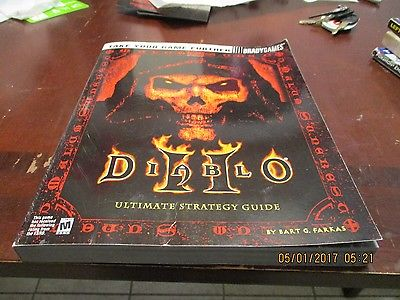 Diablo II Ultimate Strategy Guide Brady Games Blizzard