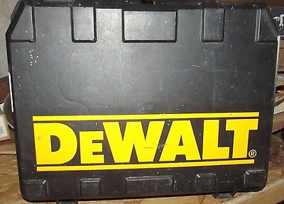 GOOD USED CASE FOR A DEWALT ELECTRIC DRILL  D21007