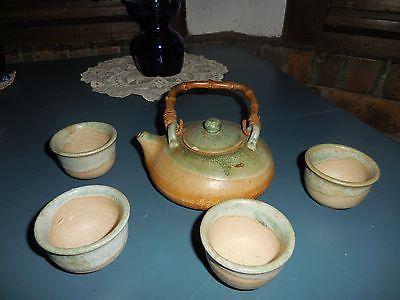 vintage art teapot