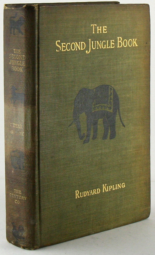Second Jungle Book by Rudyard Kipling  1912