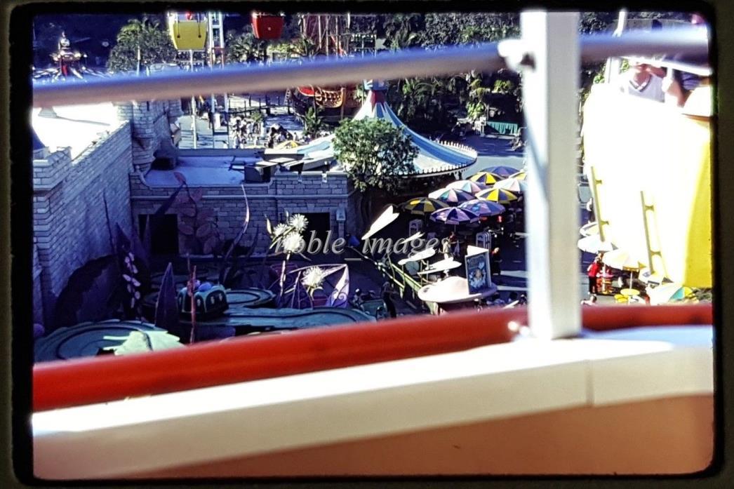 1977 Disneyland Skyway, Alice In Wonderland Ride Kodachrome Slide
