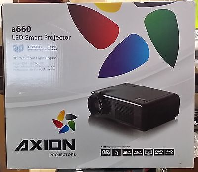 Axion A660 Led Smart Projector, TV Projector, Home Cinema