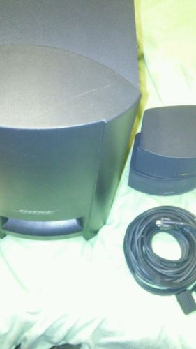 Bose 3-2-1. Gsx II Series Subwoofer 321 PS321 With Speakers and Power Cord