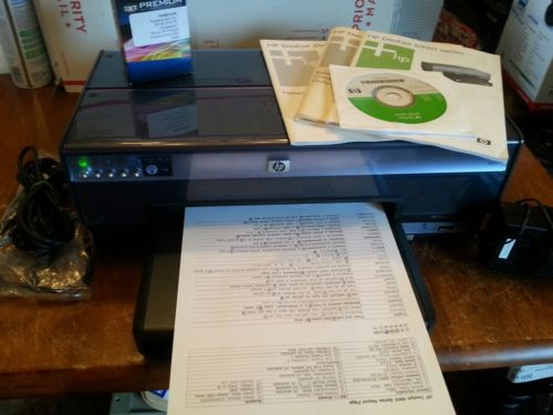 HP Deskjet 6980 Wireless Printer/Ethernet -Tested