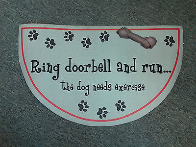 Dog doormat, 30869