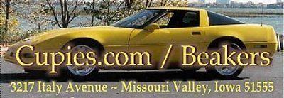 CORVETTE - 1995 Yellow  Self-Adhesive Address Labels #0417
