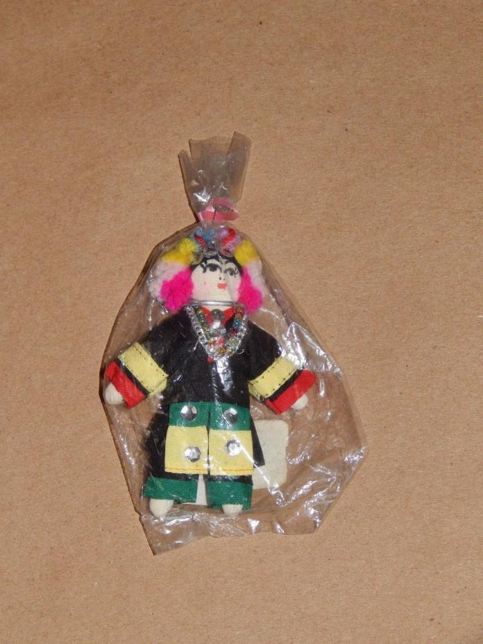HOUSE OF HANDICRAFTS DOLL AKHA HANDMADE IN THAILAND