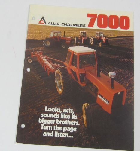 Allis Chalmers 7000 Tractor Brochure
