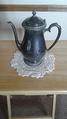 Vintage Henley Oneida Silver Plate Teapot