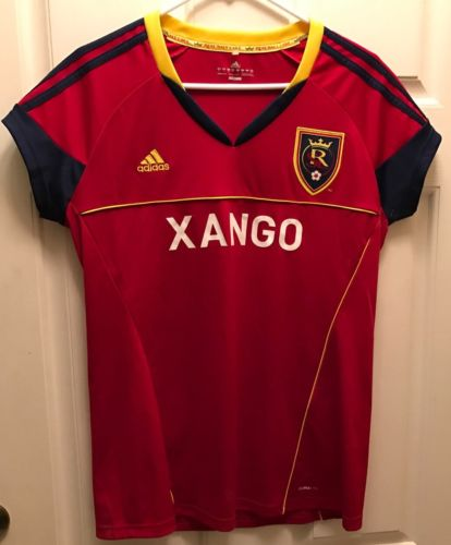 Real Salt Lake  Adidas Soccer Jersey Womens Size Large