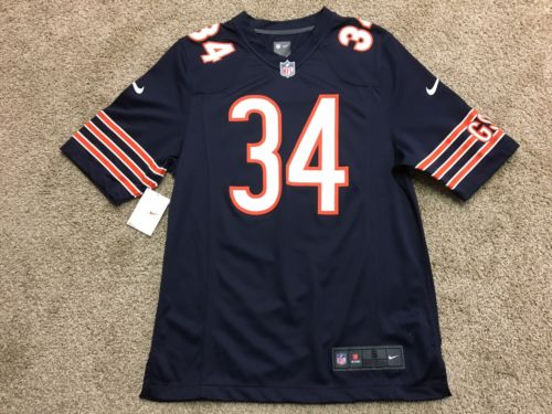 Men's Nike Chicago Bears NFL Walter Payton Limited Jersey Size Small 472789-459