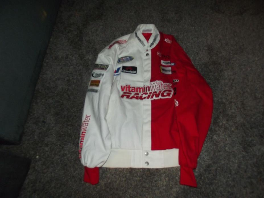 MEN LG RARE VITAMIN WATER NASCAR RACING JACKET GLACEAU DODGE BOSCH SPARK PLUGS