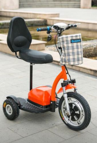 Q33 Electric Mobility Scooter- Three Wheel Stand and Ride