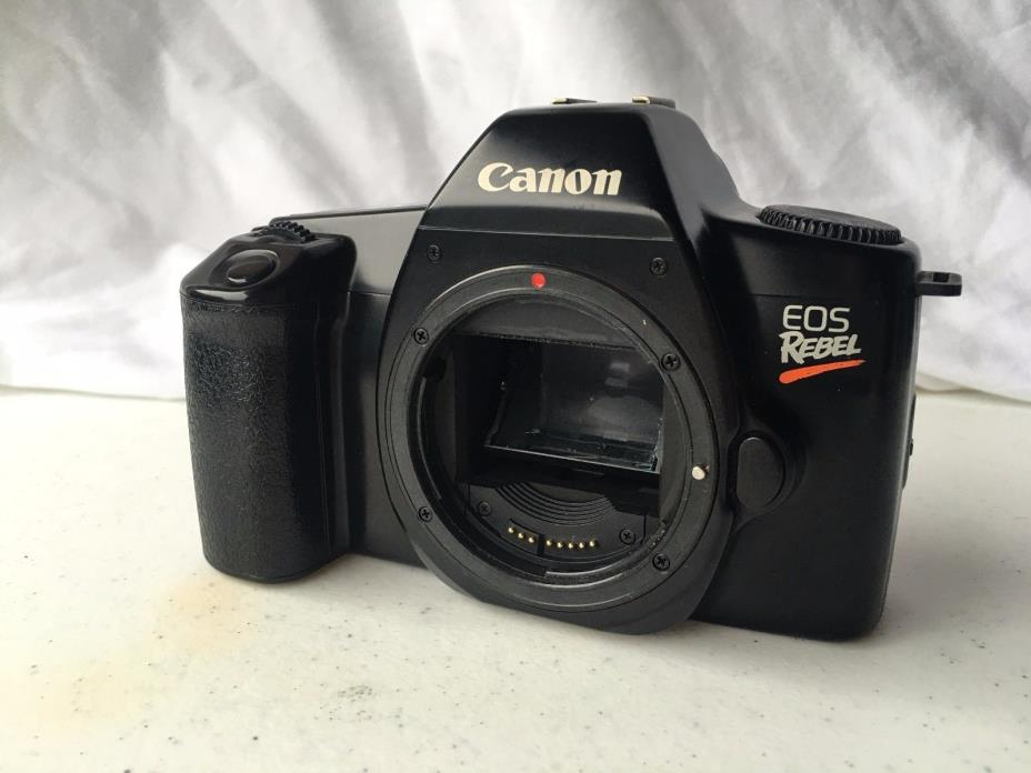 Canon EOS Rebel 35mm Film Camera Body Only