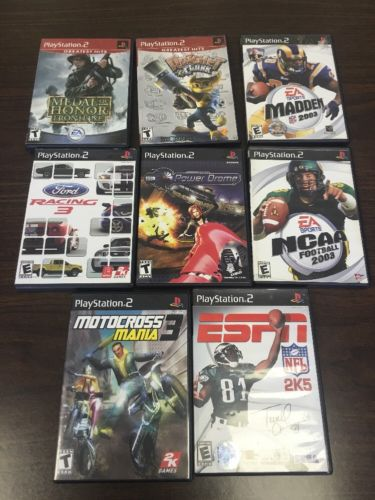 Lot Of 8 PS 2 Games.