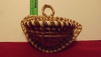 indian style Handicraft weave small basket/tray/unique hanging basket /Arizona