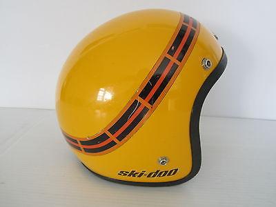 Vintage / Antique 1970's Bombardier Ski-Doo Snowmobile Helmet Blizzard RV TNT