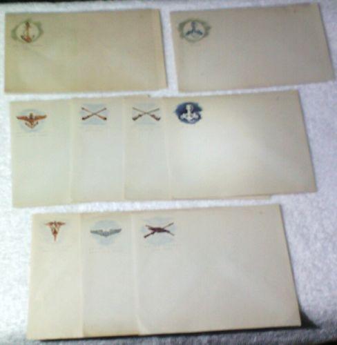 Vintage Military Envelops Lot