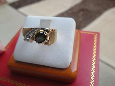 Estate Men's 14K Yellow Gold Ring 8 Grams