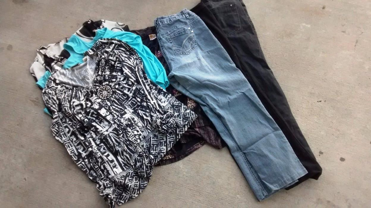 Lot of 7 Size XL Women's Clothes