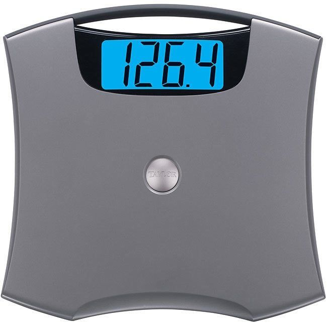 Electronic Digital Bathroom Scale High-capacity 440-pound Health Beauty Weight