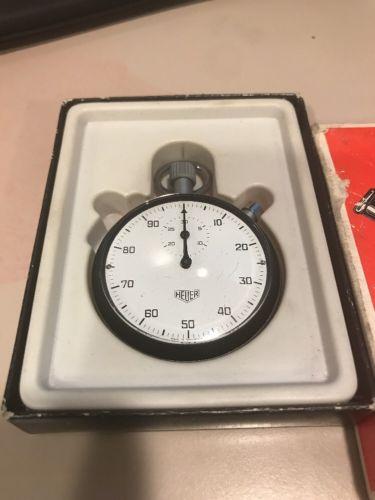 Heuer Stopwatch 408213 Swiss