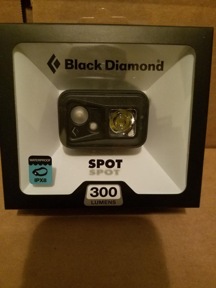 !!New 2017 SPOT Headlamp 300 Lumens Black Diamond Fast Ship