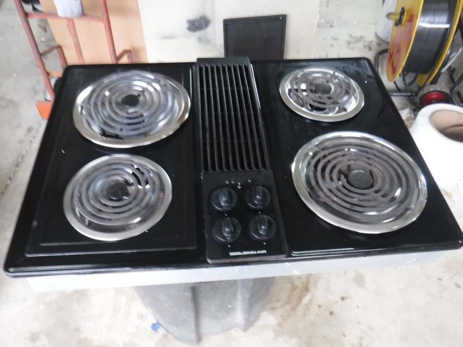 Electric Coil Cooktop With Downdraft ~ Jenn air downdraft cooktop for sale classifieds