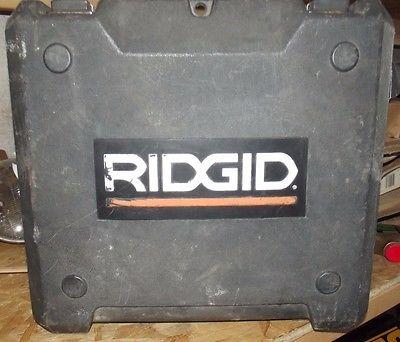 GOOD USED CASE FOR A RIDGID FRAMING NAILER R250AFA