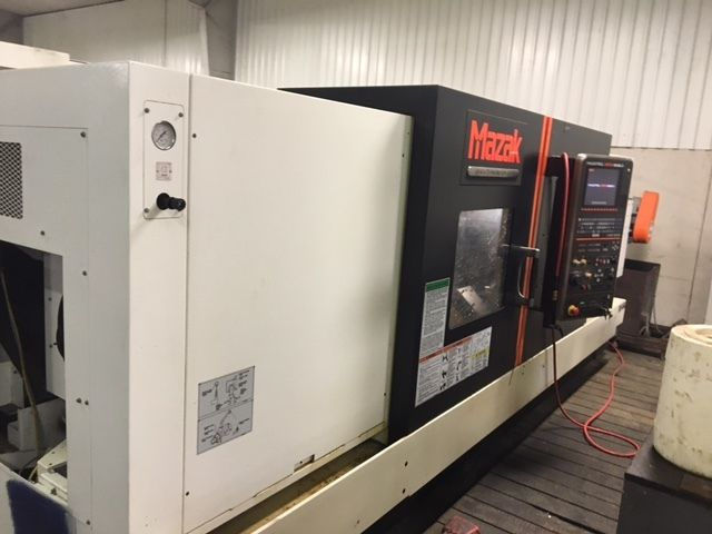 USED MAZAK QTN400 CNC LATHE 2014 5.2