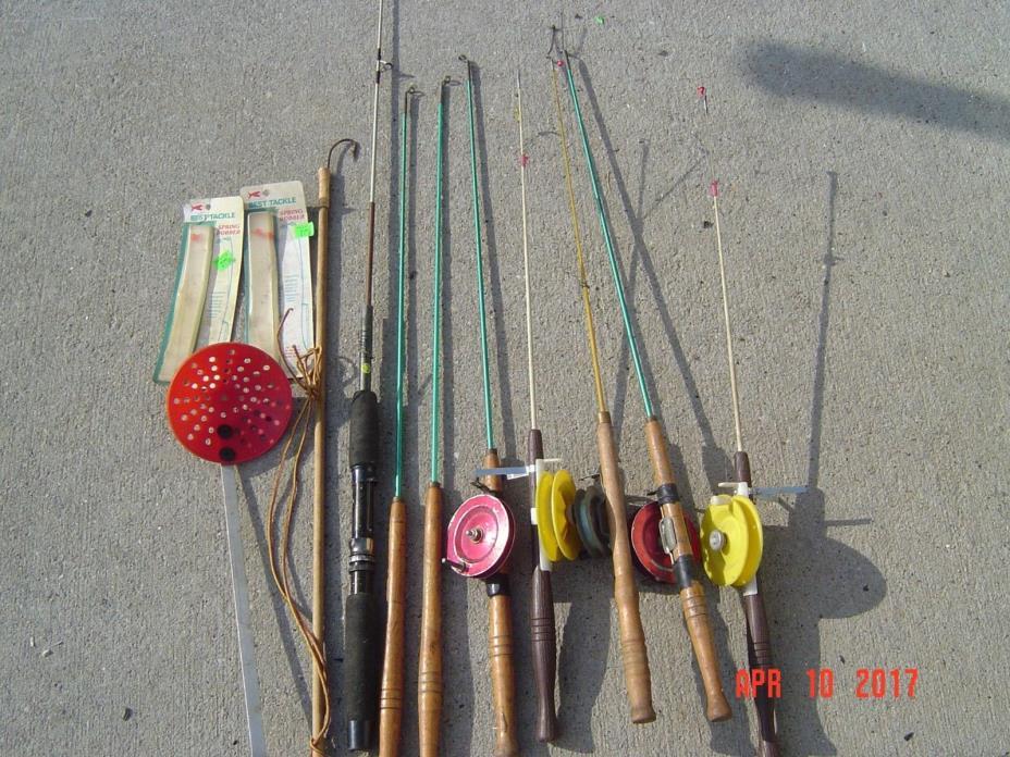 Vintage Ice Fishing Equipment