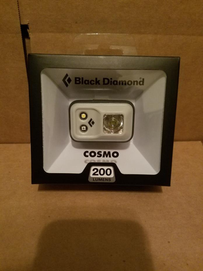 Black Diamond Spot 200 Lumens Headlamp Cosmo White Waterproof IPX8 New 2016