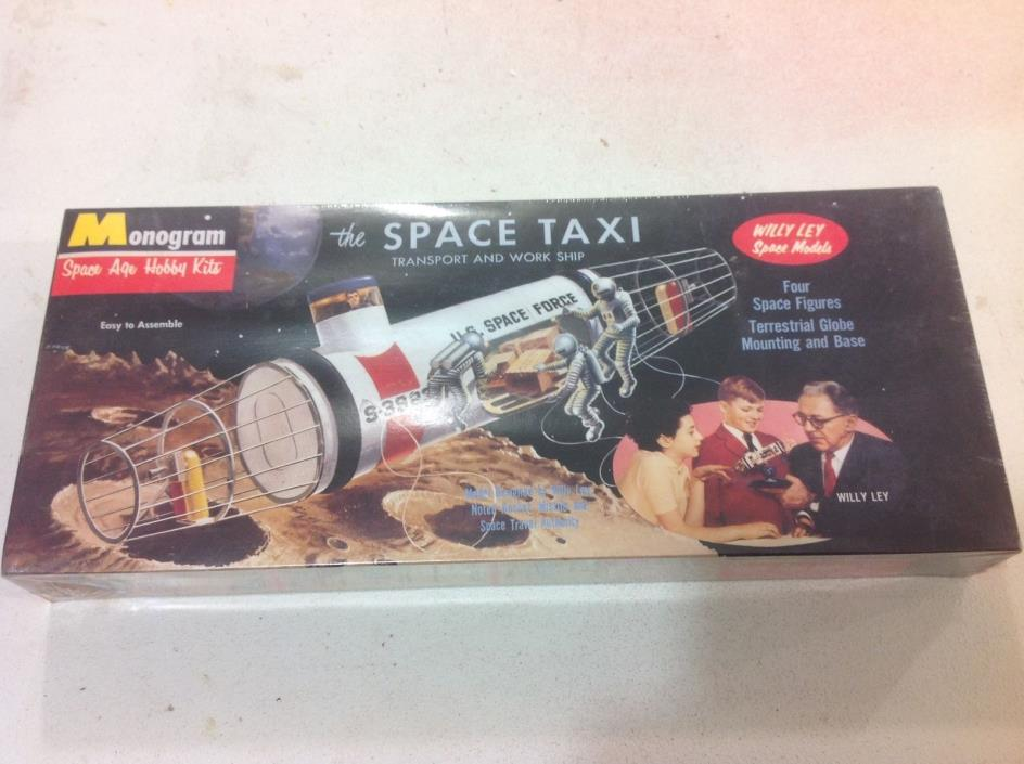 Monogram The Space Taxi kit FREE SHIPPING! Sealed!