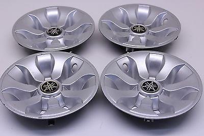 Golf Cart Car Yamaha Wheel Tire Hub Cap Silver Covers GCA-JW150-10-0, SET OF 4