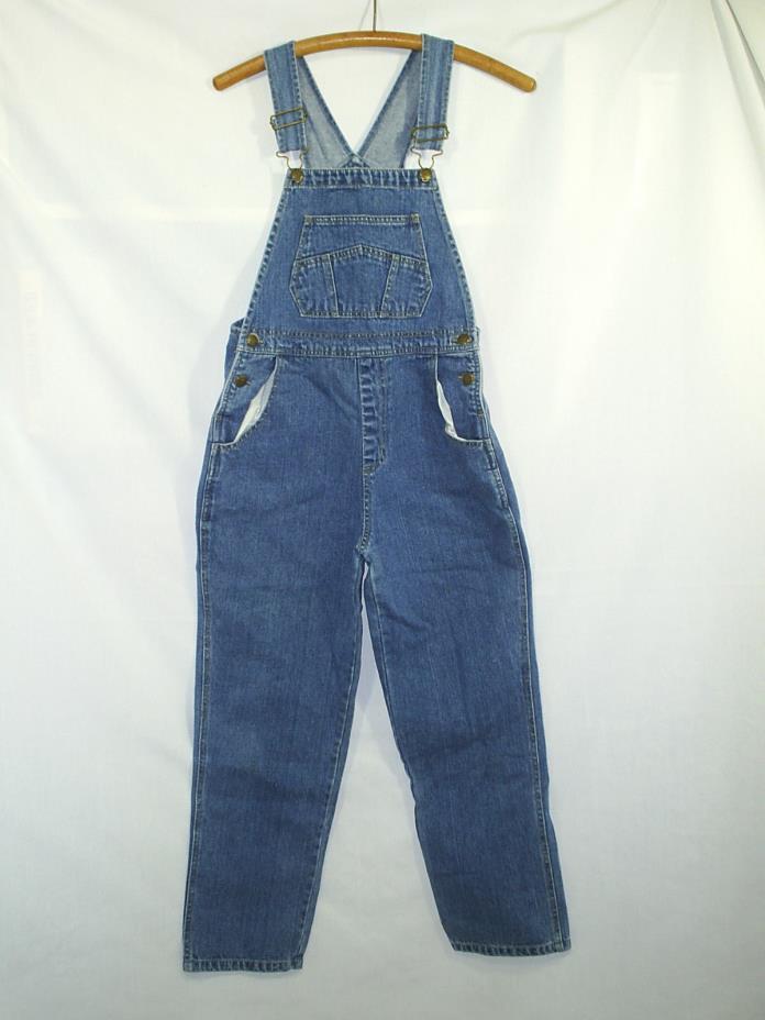 D'Mode Girls Denim Farmers Bibs Jean Overalls Carpenter Size Large