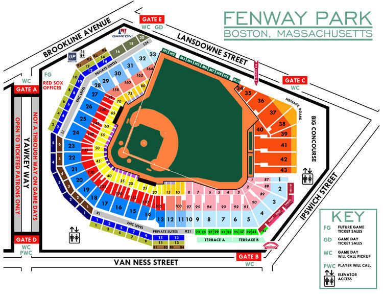 (2) Tickets Boston Red Sox vs Tampa Bay Rays FRONT ROW 4/16/17 Fenway Park