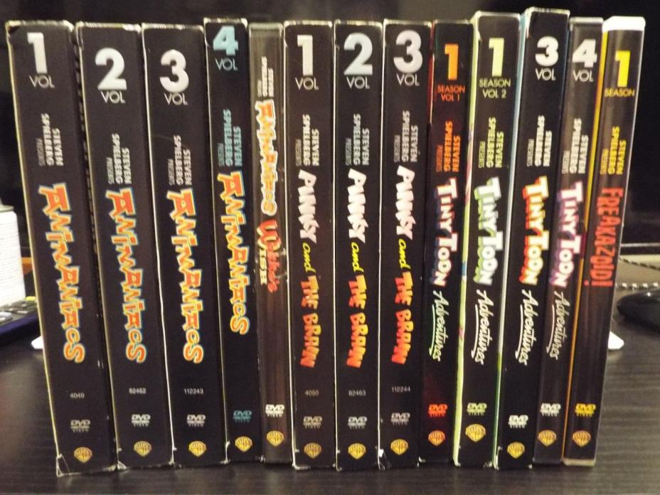 Animaniacs, Pinky & The Brain, & Tiny Toons DVDS