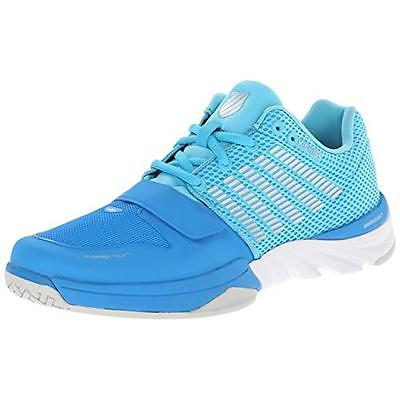 K-Swiss 6950 Womens X Court Blue Running, Cross Training Shoes 6.5 Medium (B,M)