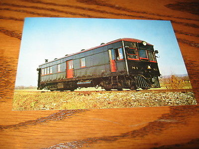 Pennsylvania East Broad Top Railroad Gas Electric Car M.1 Aughwick Valley PA.