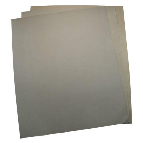 Pack 5 High Precision Polishing Sanding Wet Dry Abrasive Sandpaper Sheets Art