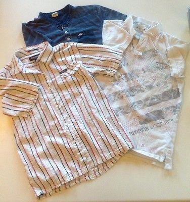Mens Short Sleeve Shirt Lot Hollister/Ecko/Arizona