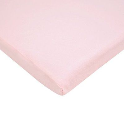 Sheets American Baby Company 100% Cotton Value Jersey Knit Bassinet Sheet, Pink