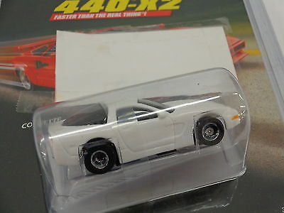 TYCO #32265 Magnum 440-X2 White 1998 Corvette new in sealed package