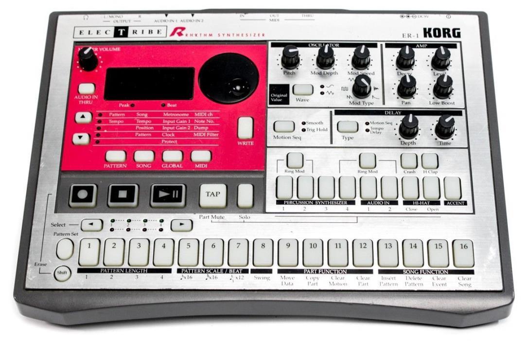Korg Electribe R ER-1 Rhythm Synthesizer