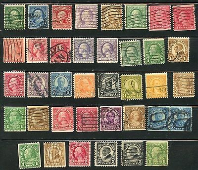 USA, UNITED STATES, SELECTION OF OLD USED STAMPS, NICE CONDITION