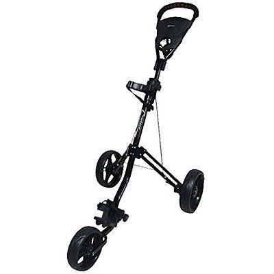 Tartan Cruiser Golf Carts Lx Deluxe Three Wheel Golf Cart, Black