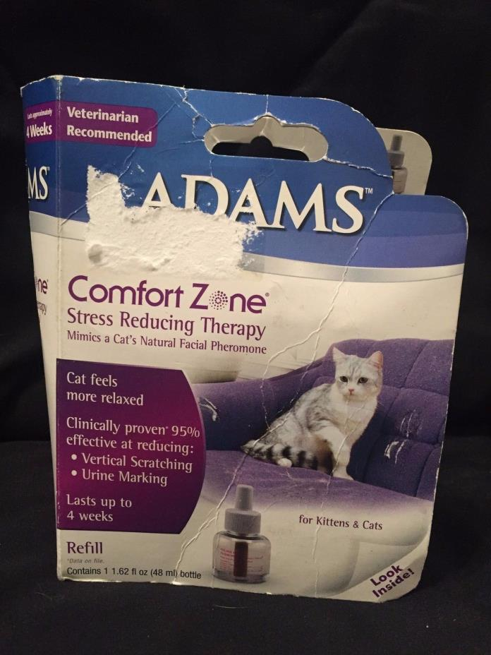 Pet Adams Cat Comfort Zone Cat Stress Reducing Therapy