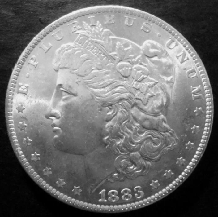 1883 O MORGAN SILVER DOLLAR (MINTED 1878-1921) ***CHOICE BU*** LOT #Z419