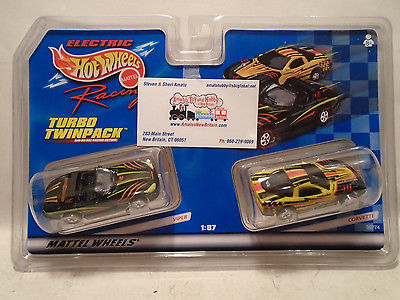 Tyco#96774 Turbo Twinpack Viper and Corvette NEW IN SEALED PACKAGE